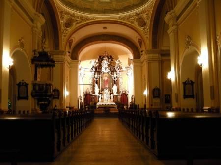 Church Interior, Bydgoszcz, Poland.