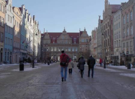 Długa Targa in Gdańsk, Poland.