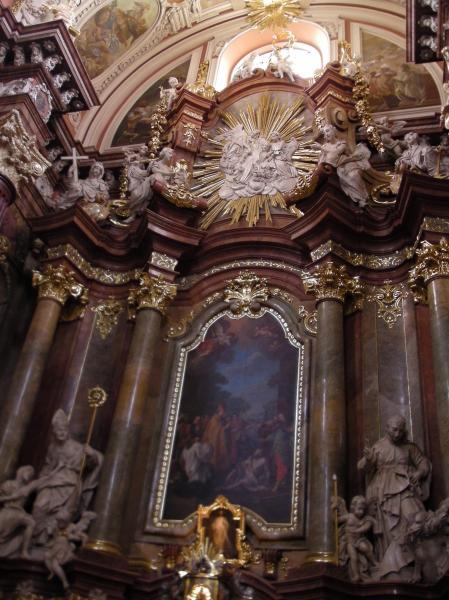 Church Interior, Poznan, Poland.