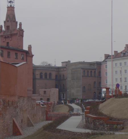 Poznan city walls.