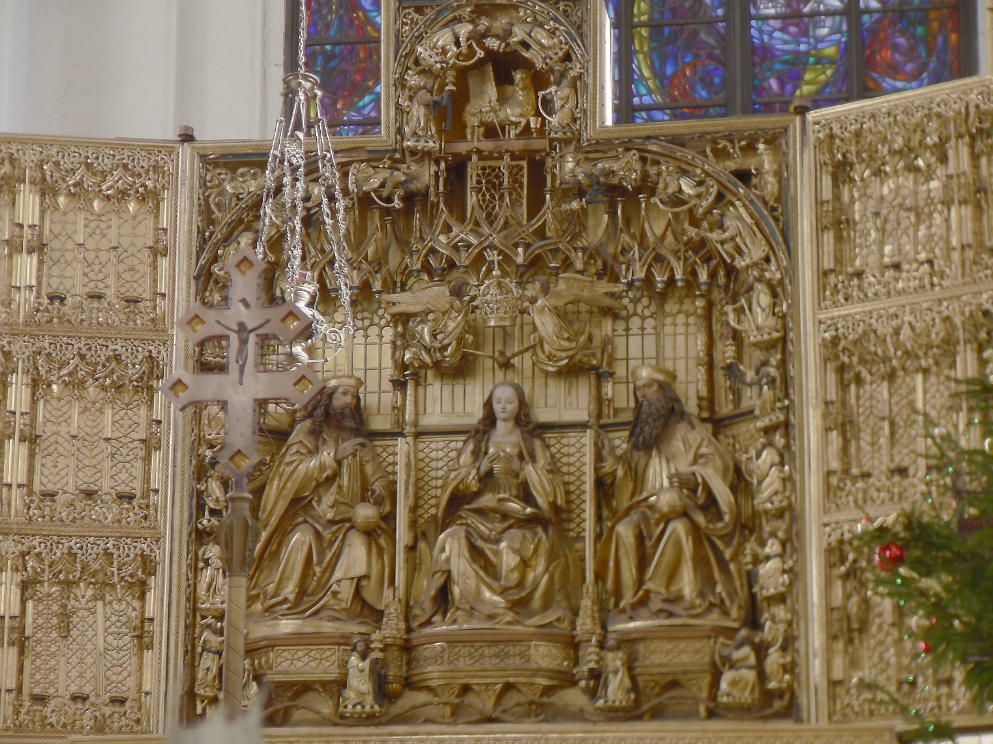 St. Mary's Church altar, Gdańsk, Poland